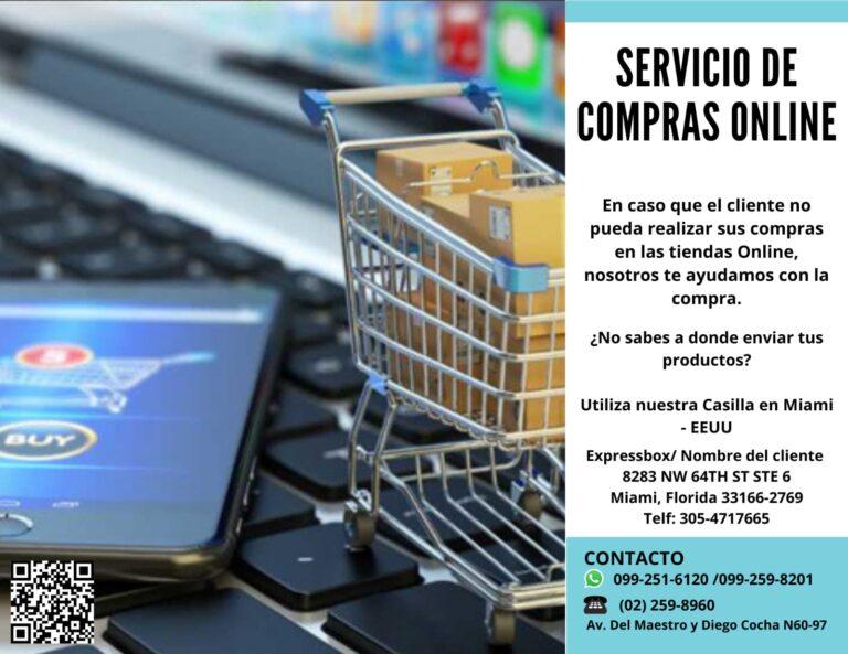 Servicio de compras online